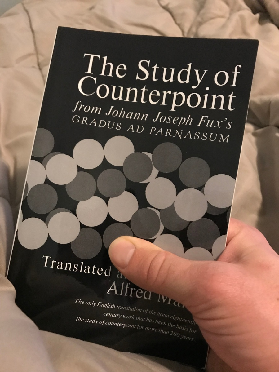 "The Study of Counterpoint: From Johann Joseph Fux's ""Gradus Ad Parnassum"""