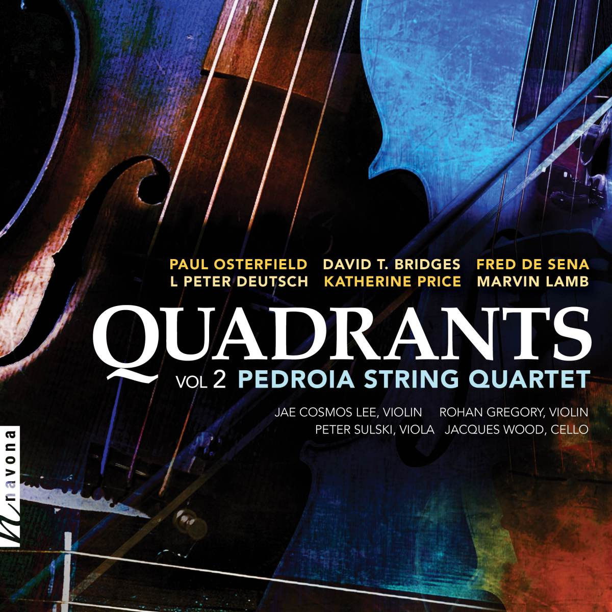 Album Review: Quadrants Vol. 2 - Pedroia String Quartet